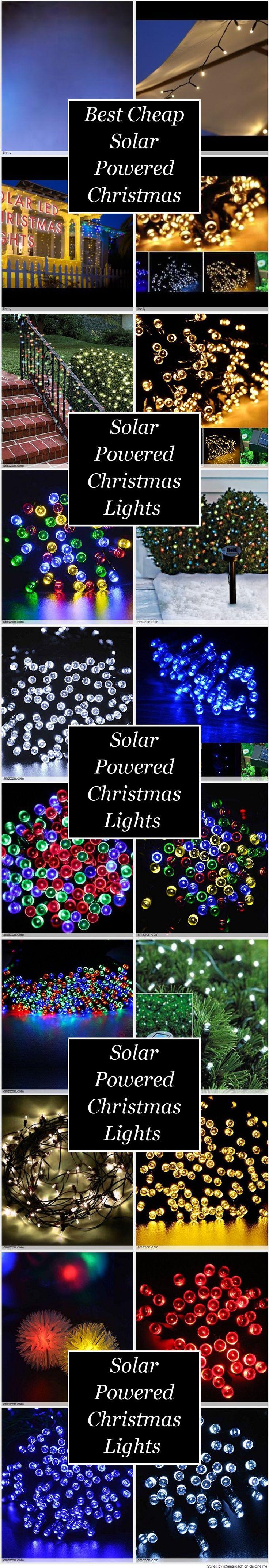 Best 25+ Solar powered christmas lights ideas on Pinterest | Solar ...