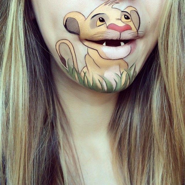 De nouveaux maquillages de bouche en personnages de cartoon par Laura Jenkinson  2Tout2Rien