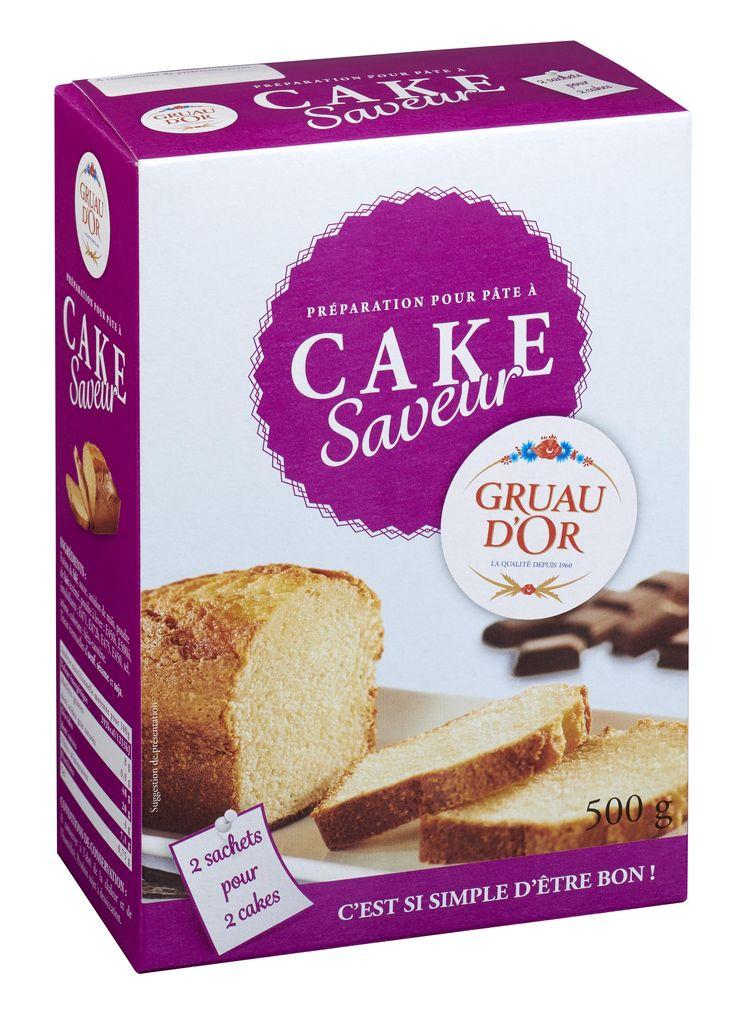 Préparation Cake saveur