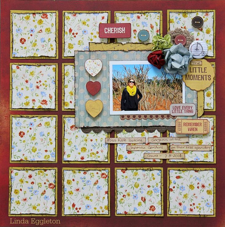 All About Scrapbooks - Kaisercraft Teddy Bear's Picnic by Linda Eggleton