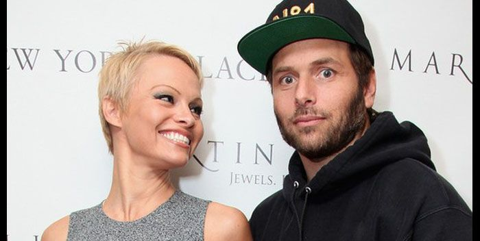 Pamela Anderson Marries Rick Salomon For The Second Time.