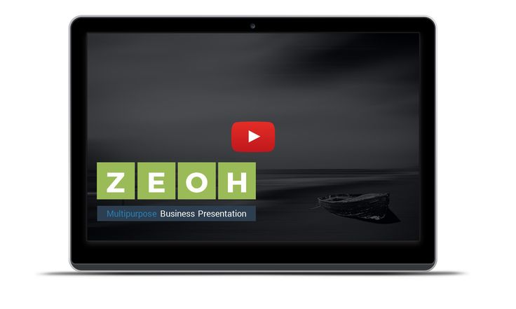 """Full Presentation Live Preview : Product Description :: """"ZEOH PowerPoint Presentation Template"""" is a multipurpose power point template is…"""