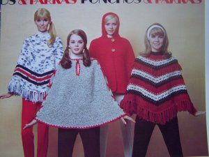 Poncho's!  Do you remember wearing these in the 7O's?