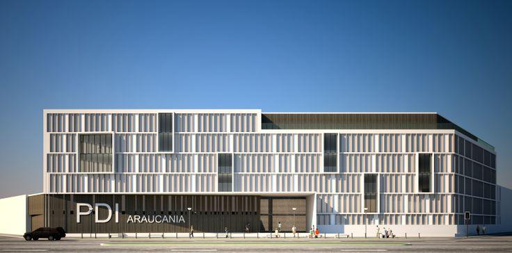 PDI Temuco / Temuco CHILE / PLAN Arquitectos www.planarquitectos.cl