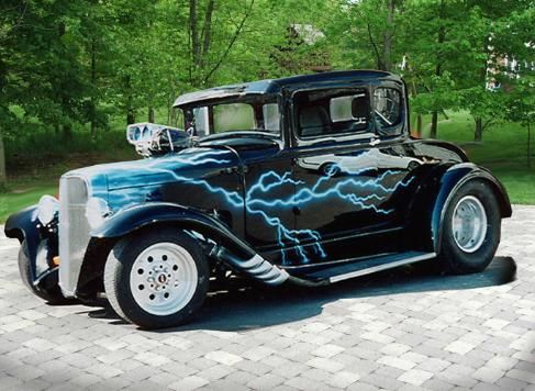 Goldnrod's airbrushed street rods,541-232-9829 airbrush,street rod airbrush