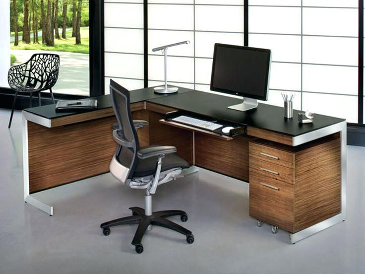 L Shaped Office Desk Modern Http Www Otoseriilan