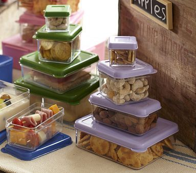 For packing 4 kids' worth of lunches
