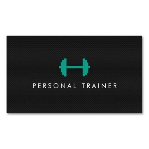 297 best fitness trainer business cards images on pinterest simple personal trainer fitness business cards cheaphphosting Image collections
