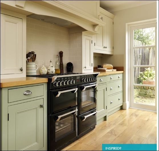 Green Painted Kitchen Cabinets: 33 Best Traditional Rangemaster Kitchens Images On