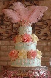 Elegant Wedding Cake  Keywords: #weddingcakes #jevelweddingplanning Follow Us: www.jevelweddingplanning.com  www.facebook.com/jevelweddingplanning/