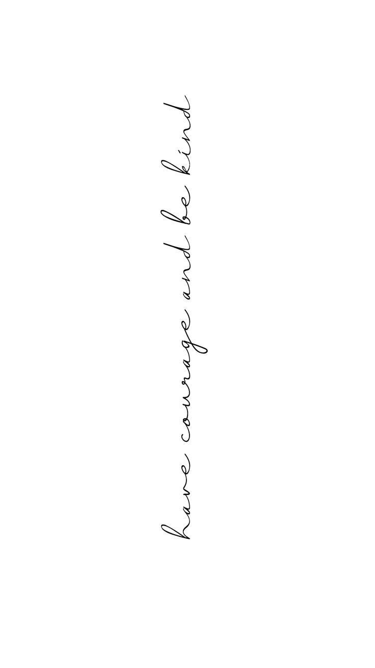 Es braucht Mut, freundlich zu sein. # Benutzt #freundlich   – tattoo$ & piercing$