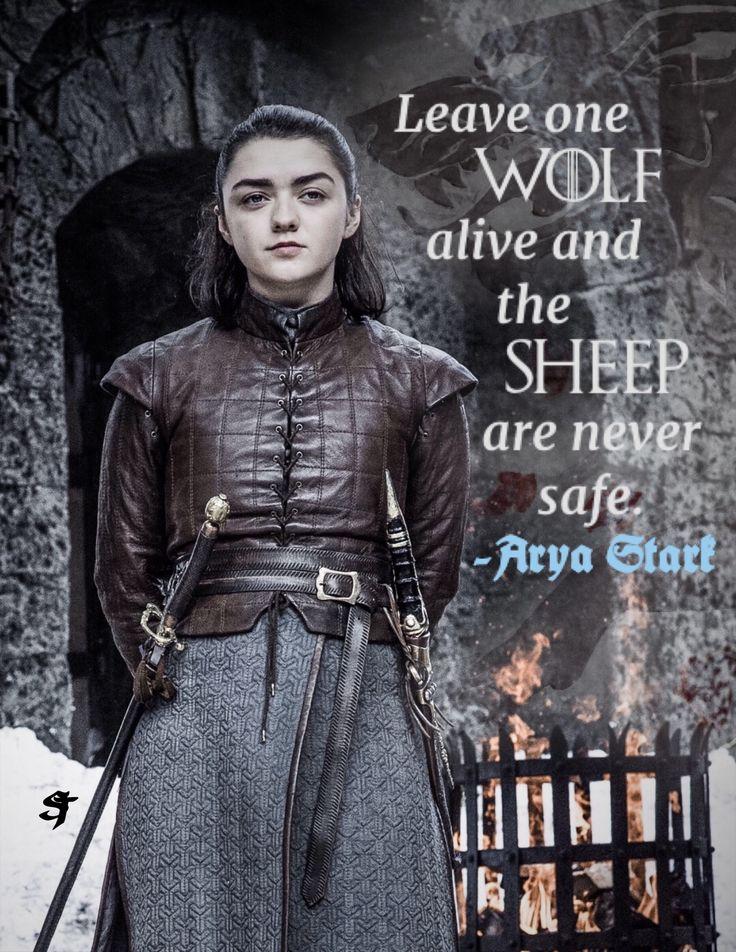 Arya Stark quote season 7