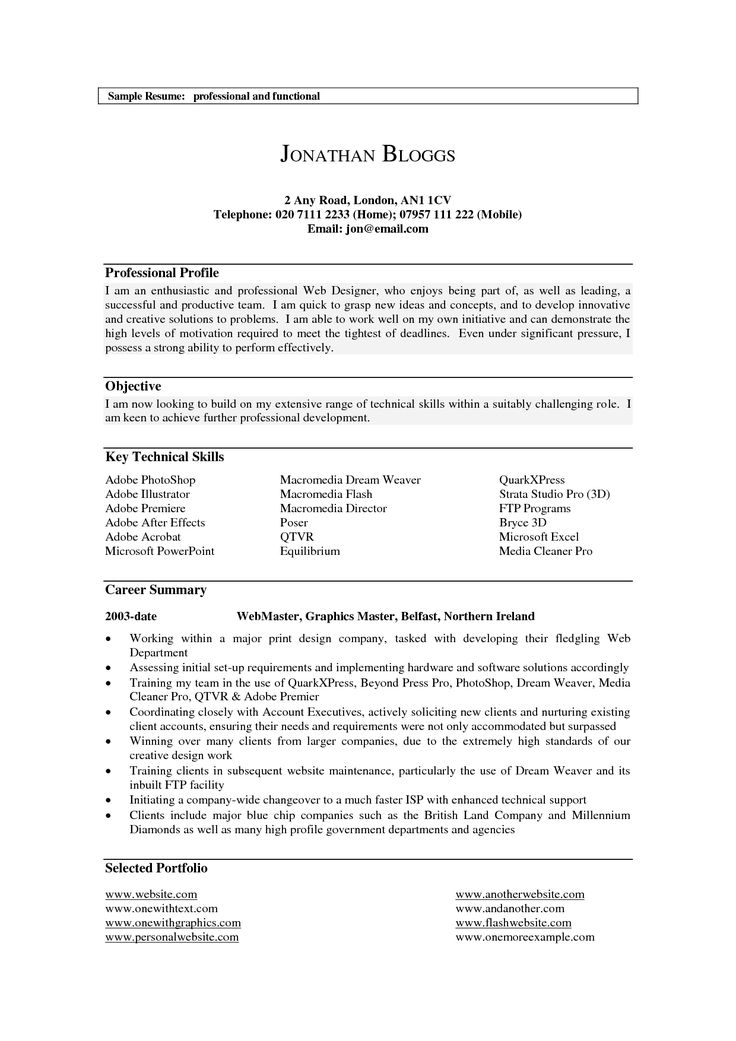 best 25  professional profile resume ideas on pinterest