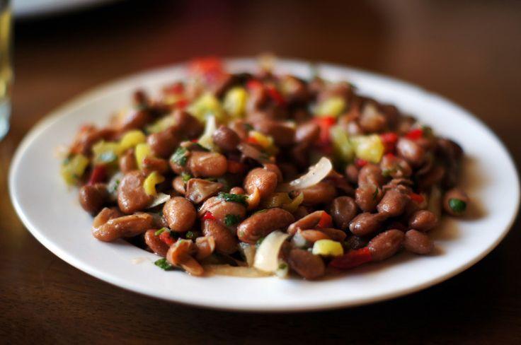Фасоль с луком - Ужин без углеводов: белковые блюда для самых ленивых