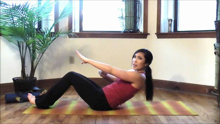 Abs & Inner Thighs Pilates Workout. I do the first 20 minutes after a cardio workout. So good!