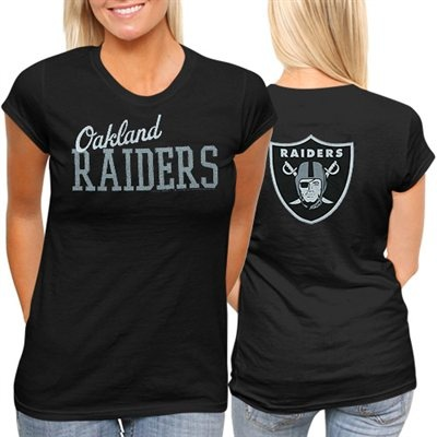 TWO DAYS ONLY: All Ladies & Kids apparel is marked down 15-40% at Fanatics! Get this Oakland Raiders T-Shirt for only $18.66: http://pin.fanatics.com/NFL_Oakland_Raiders/on_sale/yes/Oakland_Raiders_Womens_Game_Day_T-Shirt_-_Black/source/pin-raiders-ladies-sale-sclmp