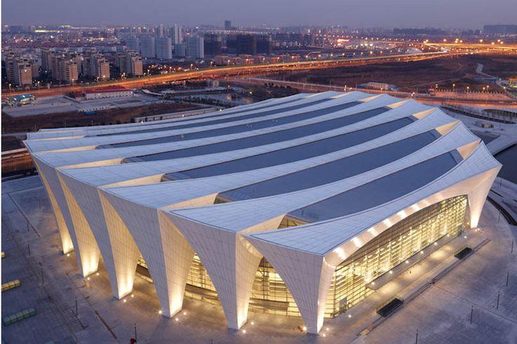 Shanghai Oriental Sports Centre Indoor Stadium(c) KingkayArchitectural Photography