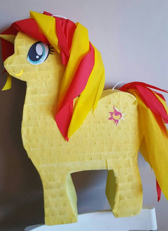 Check out this item in my Etsy shop https://www.etsy.com/listing/510540220/pony-pinata-inspired-by-my-little-pony