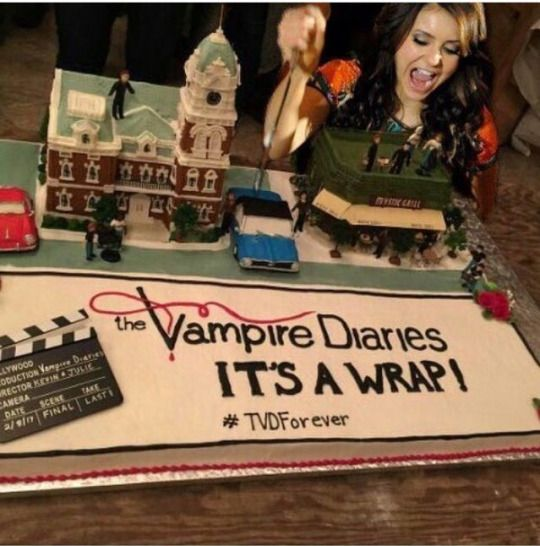 TVD Wrap Party - Tvd Forever