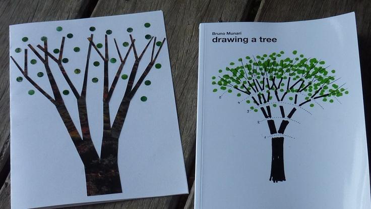 Bruno Munari Drawing a tree