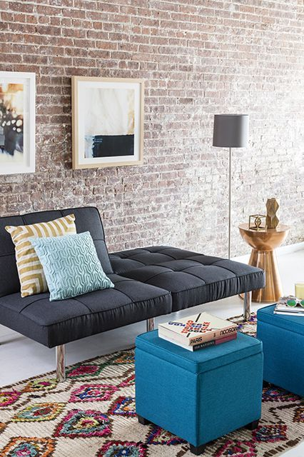 How To Create A Living Space You'll LOVE  #refinery29  http://www.refinery29.com/living-room-storage-makeover