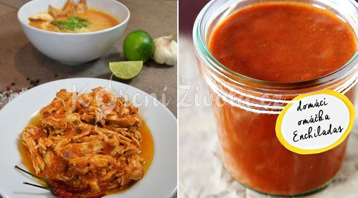 Červená enchiladas omáčka - recept