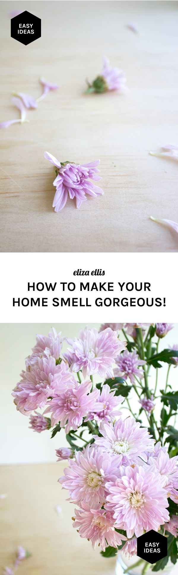 One of my most popular posts ever, and always helpful when you're expecting guests - How to Make Your Home Smell Gorgeous! Loads of tips, tricks and handy hints.