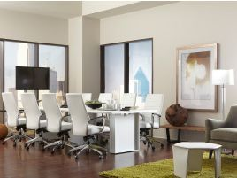 The Quorum Conference Table Is Modern, Stylish And Adaptable To Your  Workplace Needs. CORT Rents Conference Tables In Assorted Styles And Sizes.