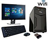 #9: ROLLTOP Assembled Desktop Computer|INTEL CORE 2 DUO 2.9 GHZ Processor |G 31 FRONTECH/ZEBRONICS Motherboard |Consistent 15 inch LED Monitor |2 GB RAM | 250 GB Hard Disk| INTEX/FRONTECH Cabinet | FRONTECH Keyboard Mouse | Mini Wi Fi USB Adaptor | Windows 7 Installed (Trial Version)(Frigo)
