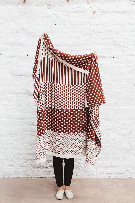 Knitted Wool Blanket, Knit Wool Blanket, Oversized Blanket, Sofa Knit Blanket, Cozy Wool Blanket, Cozy Throw Blanket, Large Knit Blanket