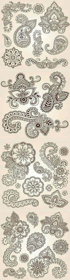 Mandala design patterns