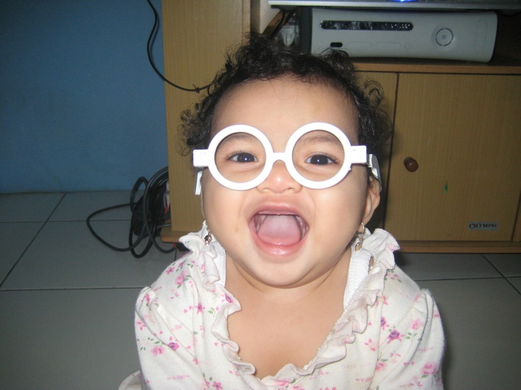 Airis Aurora Putri my daughter when she was 9 months old
