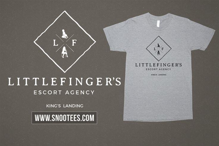 Littlefinger's Escort Agency T-Shirt - Game Of Throne #GameofThrones #GoTSeason6 #Littefinger #GoT  #Tee #T-Shirt #Tshirt