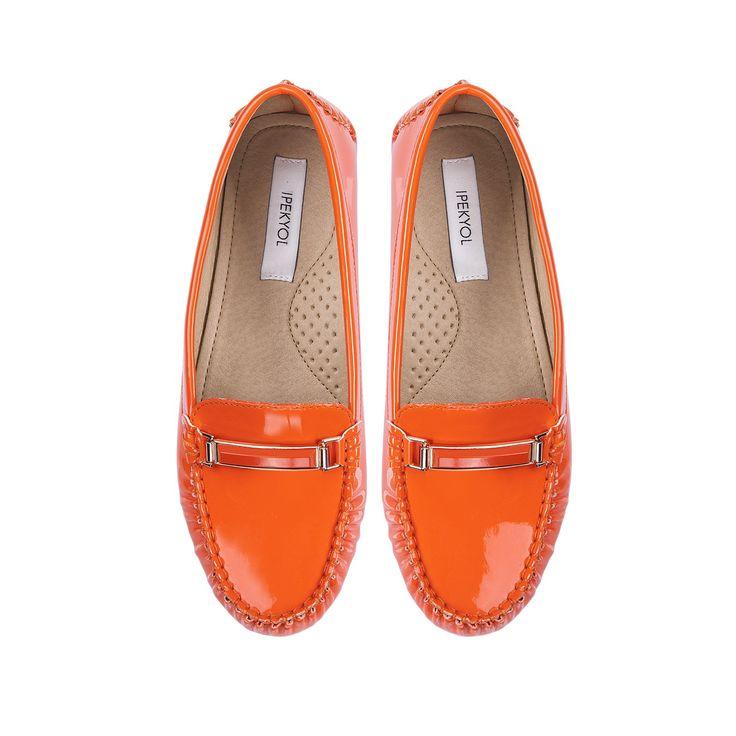 Ipekyol #toka detaylı parlak #loafer.