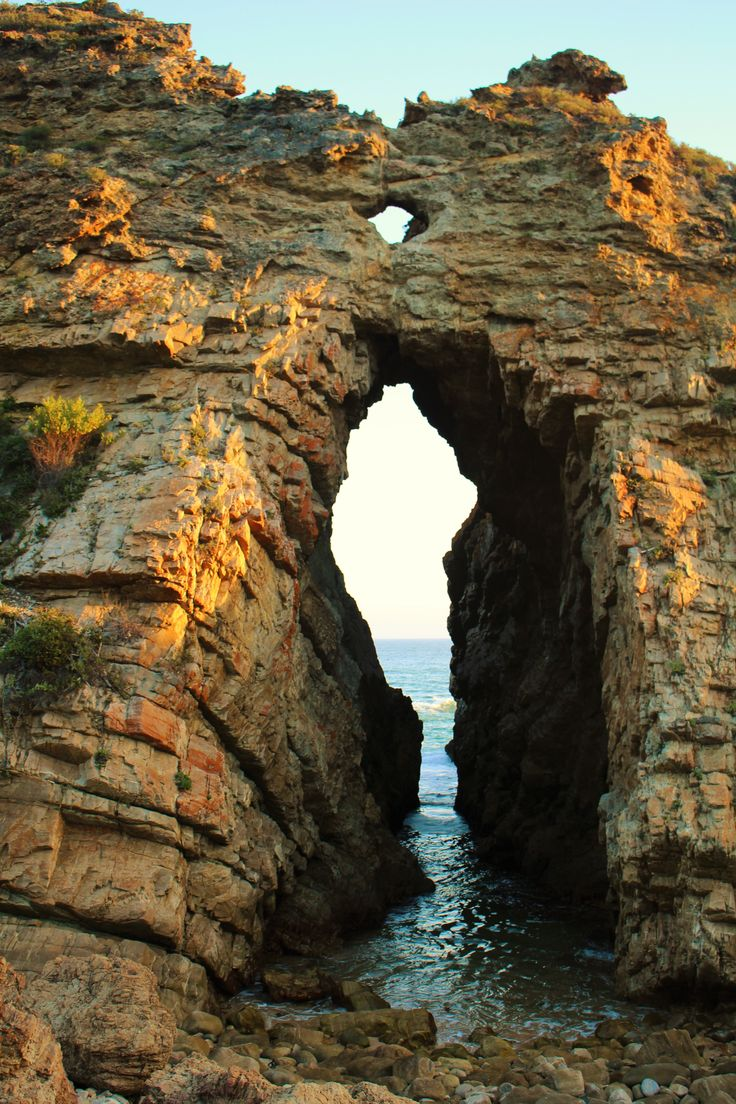 Beautiful Arch Rock, Keurboomstrand, South Africa