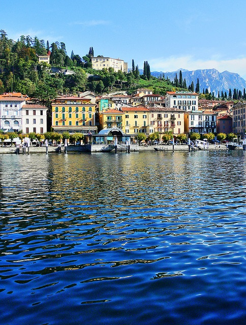 Bellagio, Italy on beautiful Lake Como