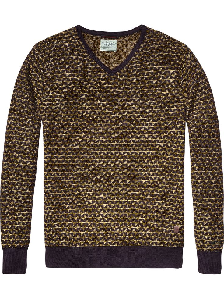 Pull Jacquard rétro | Pull | Habillement Homme Scotch & Soda