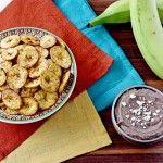 Costa Rica: crispy plantain chips