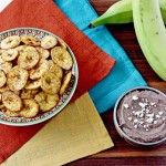 Costa Rica: crispy plantain chips