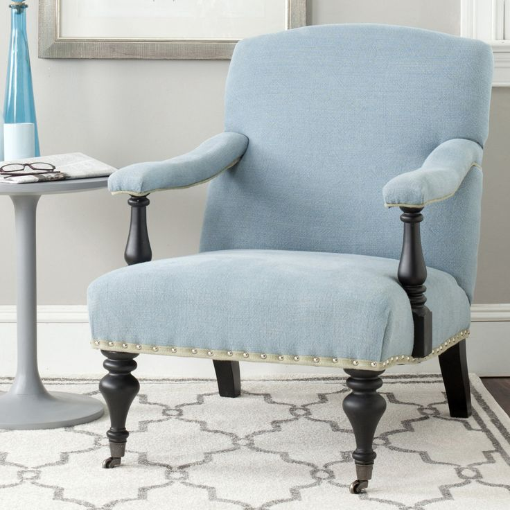 Safavieh Devona Linen Arm Chair - MCR4731A