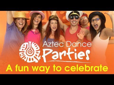 Dance Parties at the Aztec Studio in Torquay - A fun way to celebrate - YouTube  https://www.youtube.com/watch?v=e1lJYonZGU0