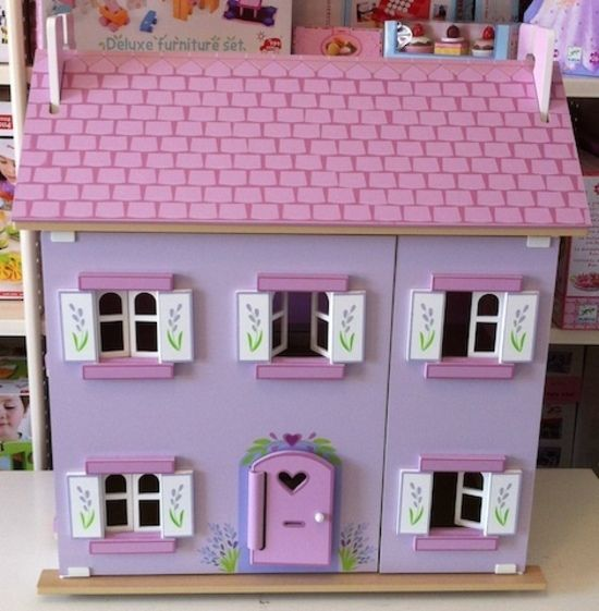 Le Toy Van Lavender Doll House Shop online DirectToys NZ