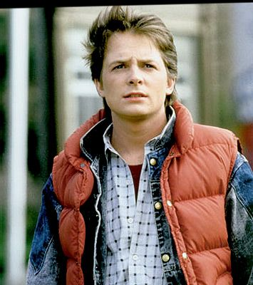 "Marty McFly and his ""life preserver"""