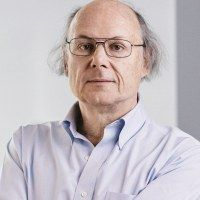 Bjarne Stroustrup (born 30 December 1950) is a Danish computer scientist, most notable for the creation and development of the widely used C++ programming language.[4] He is a visiting professor at Columbia University, and works at Morgan Stanley as a Managing Director in New York.[5][6][7]