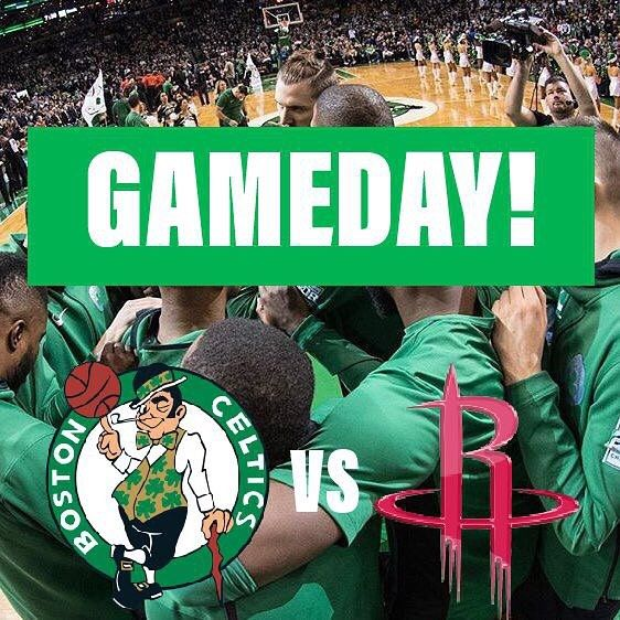 Gameday!! Lets feast tonight! Celtics vs rockets 8:30 Toyota center ABC  Follow me @bos2on_celt1cs for more  #haywardtoboston #celtics #alhorford #kyrieirving #kyrie4 #nba #nba2k18 #nbaallstar #lebron #jaysontatum #jaylenbrown #sixers #pelicans #ncaa #curry #warriors #KD #lavar #lonzo #ballislife #cusrise #bleedgreen #itsnotluck #celticswin #celticsgame #lebron15 #kyrie4 #weruntheeast #uncledrew #raptors #18in18