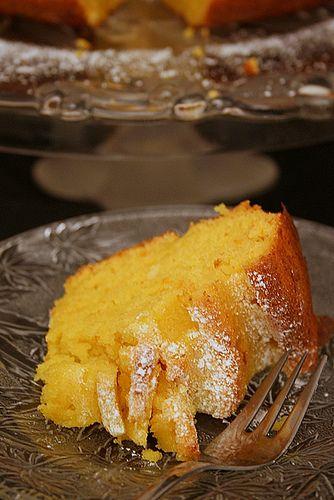 Le Pétrin: Le Gâteau Orange-Huile d'Olive de Mme Mahjoub