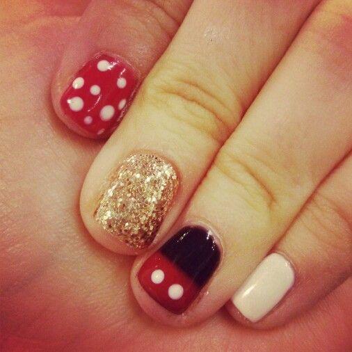 Disney Manicure by Jessica Lynn