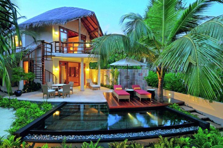 Amazing holidays in Maldives. /honeymoon, hotel in maldives, modern / #design #moderndesign #naturelovers / See more: http://www.designcontract.eu/hospitality/choose-destination-best-honeymoon-hotels-maldives/