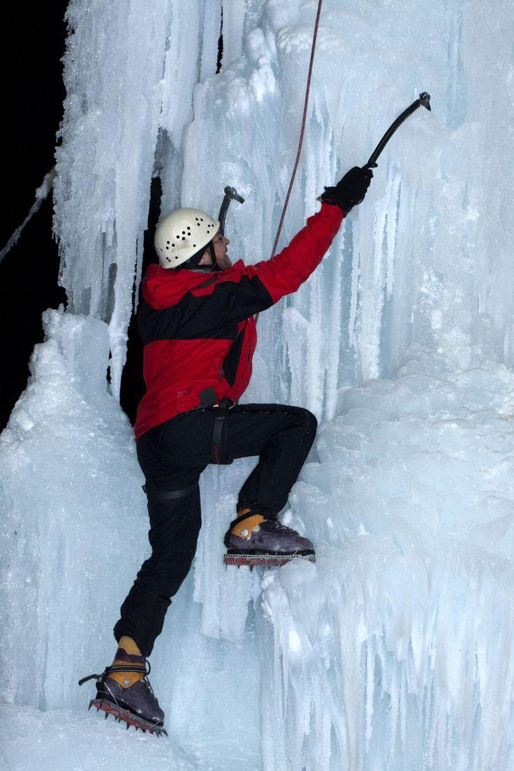 Eisklettern #Winter #tiroleroberland