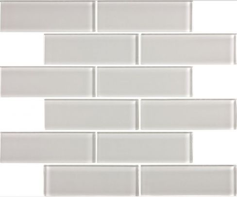 Discount Glass Tile Store - 2x6 Glass Subway Series - Light Gray Special Price $6.49 sq.ft, $6.49 (http://www.discountglasstilestore.com/2x6-glass-subway-series-light-gray-special-price-6-49-sq-ft/)